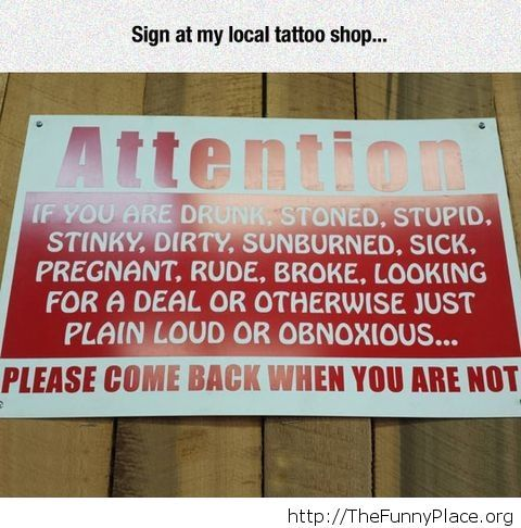 Every store needs a sign