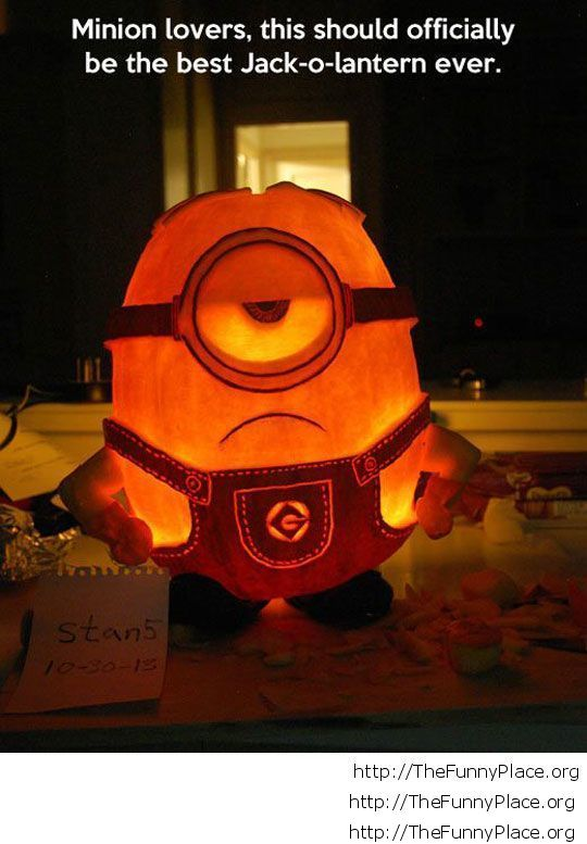 Funny Minion for Halloween