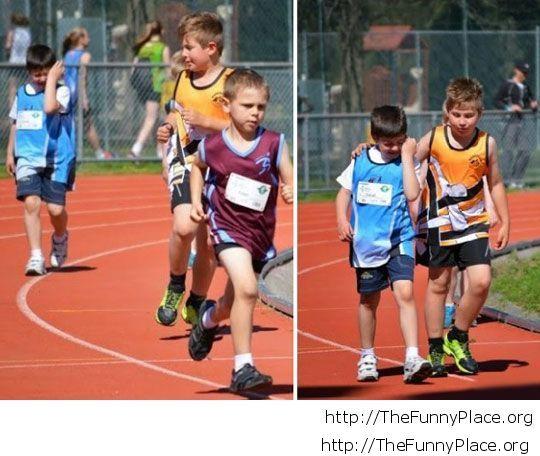 Kid sportmanship image