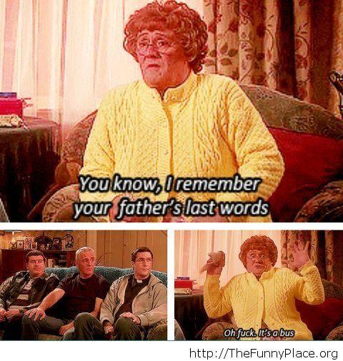 Last words Funny