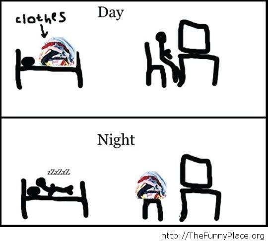 The same routine