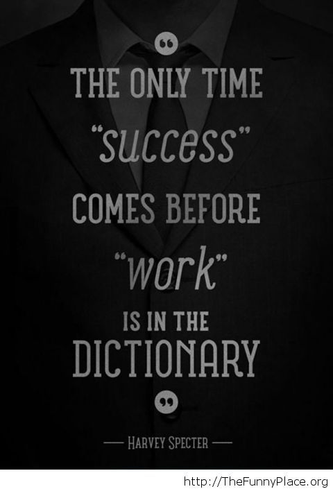 Awesome Harvey Specter quote