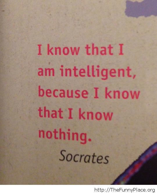 Awesome Socrates quote