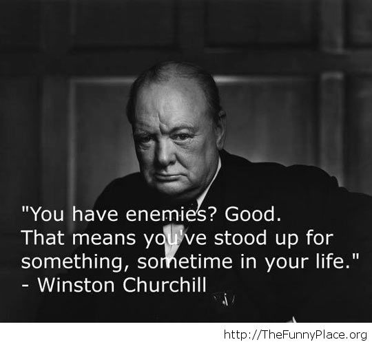Awesome enemies quote