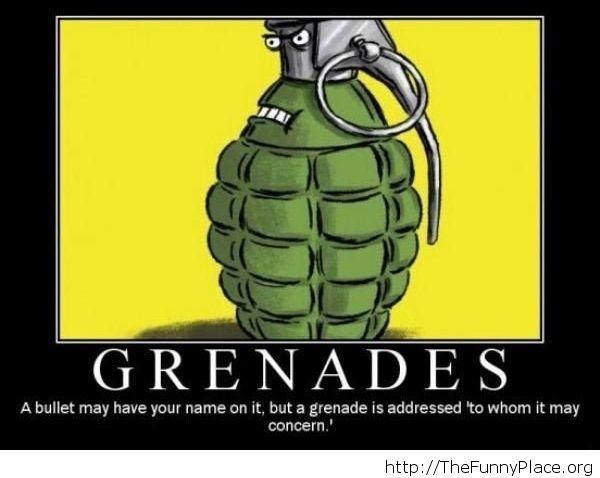 Badass grenades image