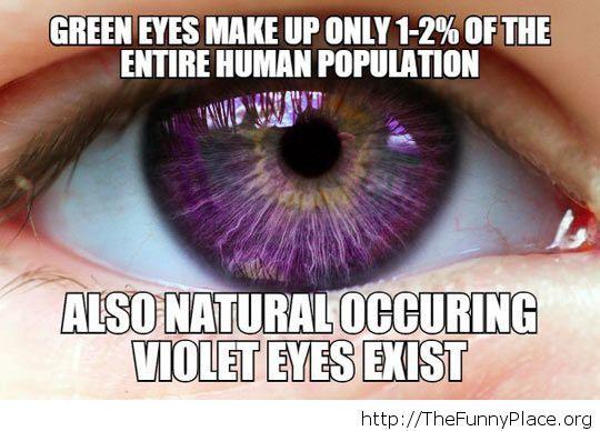 Cool eyes fact