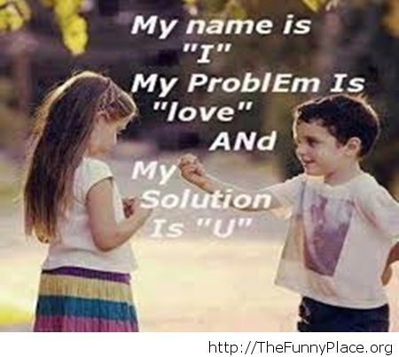 Cute love saying