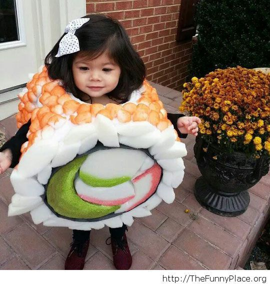 Cute sushi roll