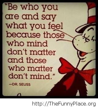 Dr.Seuss awesome quote