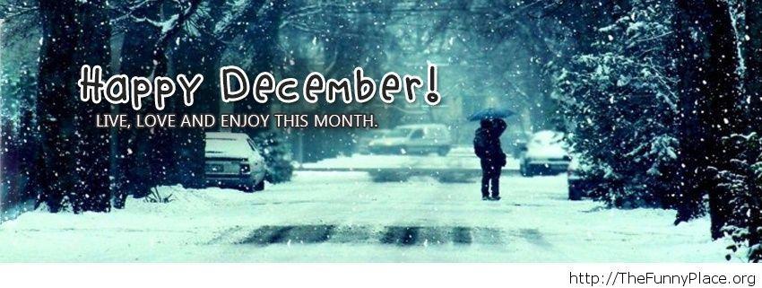 Enjoy December wallpaper