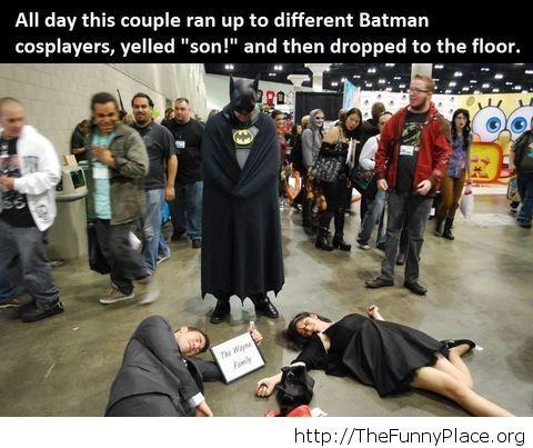 Funny Batman prank