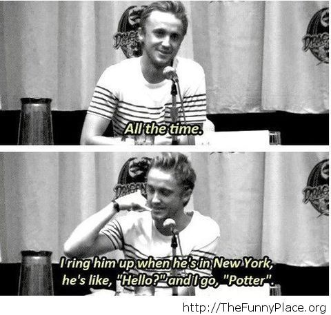 Funny Draco phonecall