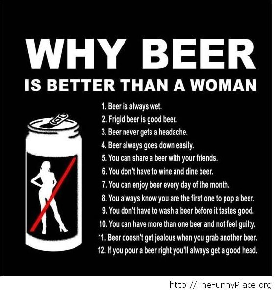 Funny beer facts