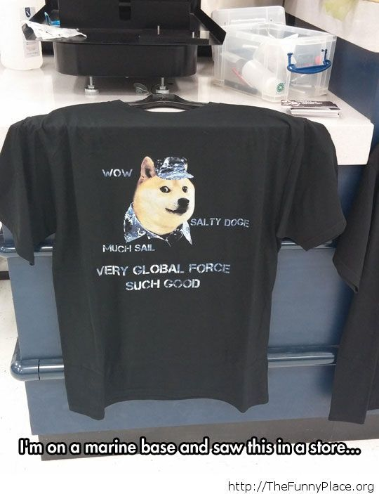 Funny doge t-shirt