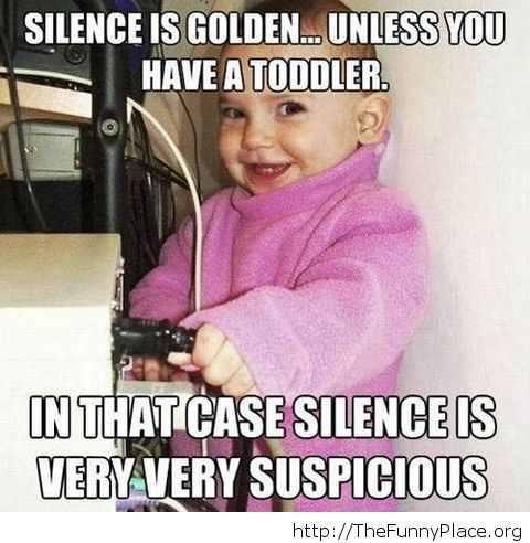 Funny silence quote