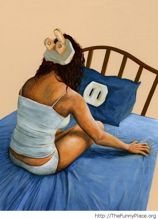 Insomnia image painting