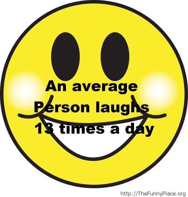 Laughing daily fact