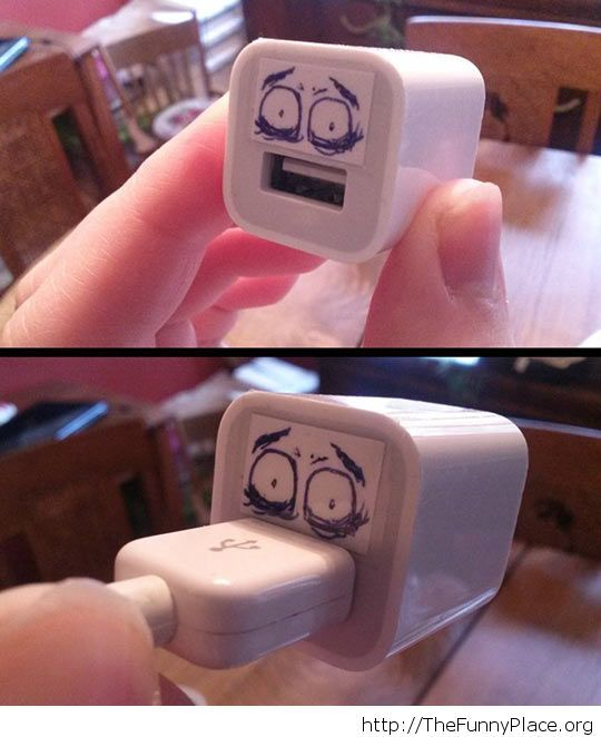Scared USB adaptor