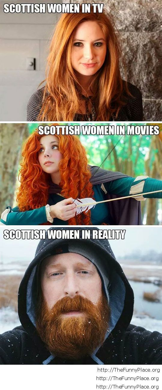 Scotish women picture