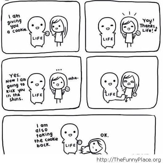 Such a cruel life