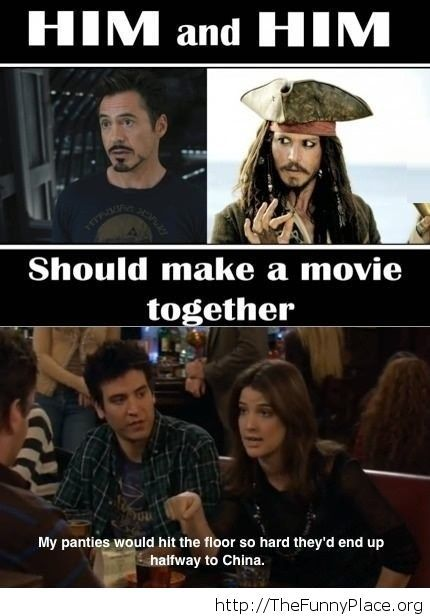That would be a great movie