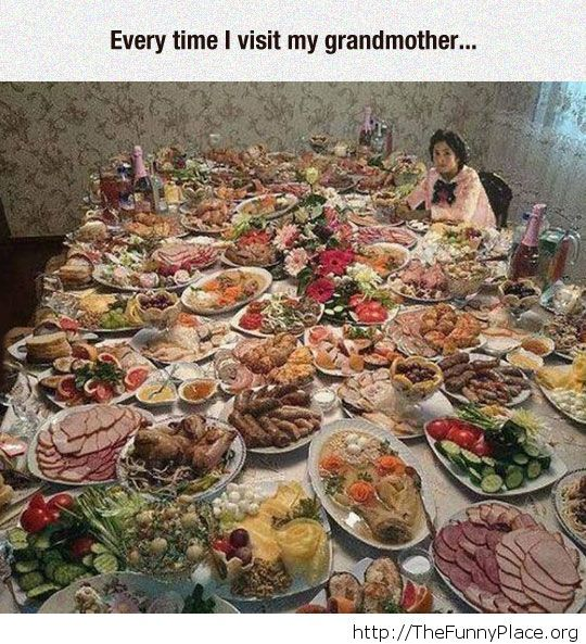 Visiting your grandmother