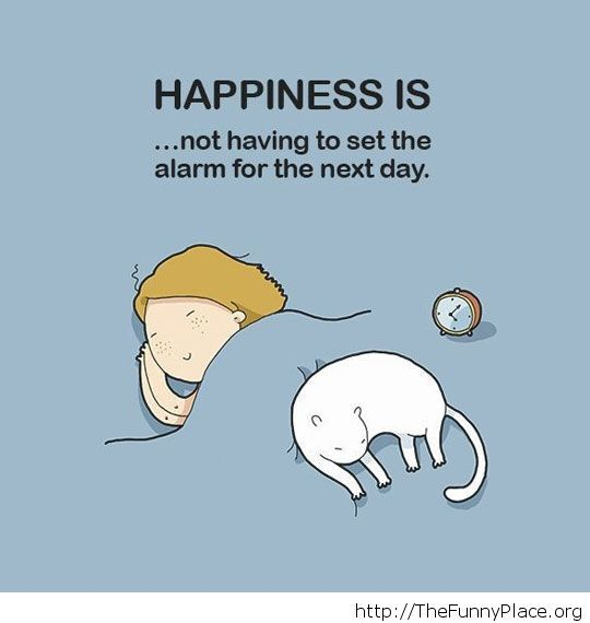 What happiness means this days