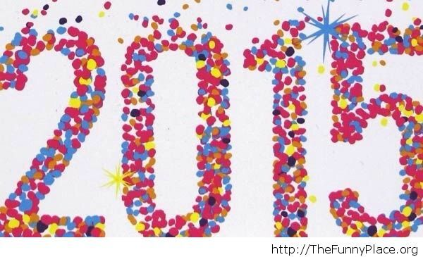 2015 Creative wallpaper New Year
