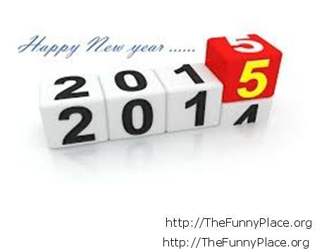2015 New Year 3D wallpaper