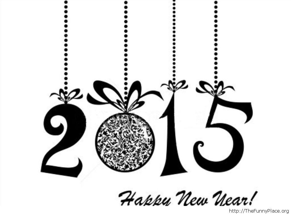 2015 New Year funny wallpaper