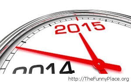 2015 countdown wallpaper clock New Year