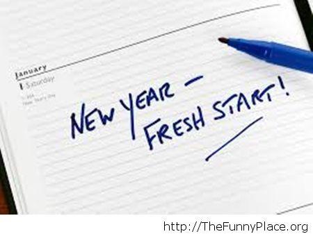A fresh start for 2015