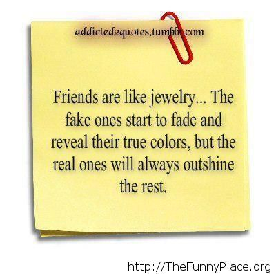 Awesome quote about your friends