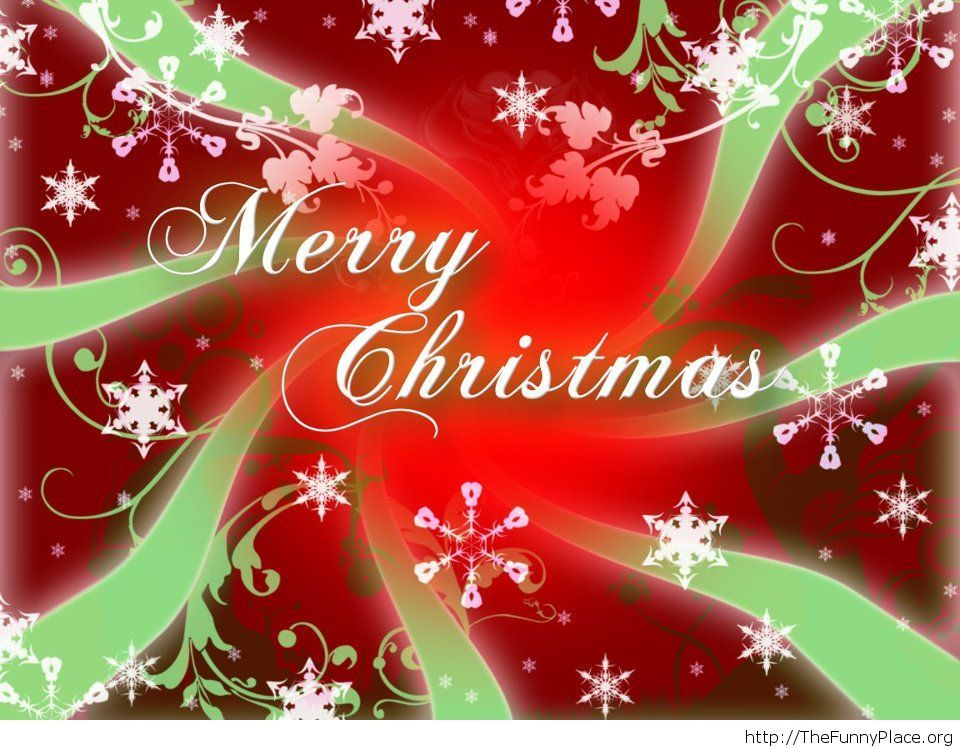 Beautiful Merry Christmas image 2014