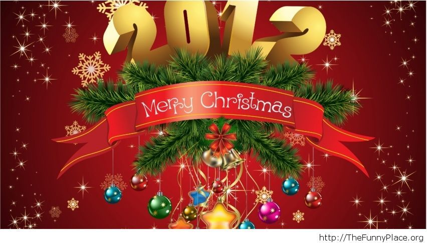 Beautiful Merry Christmas wallpaper 2014