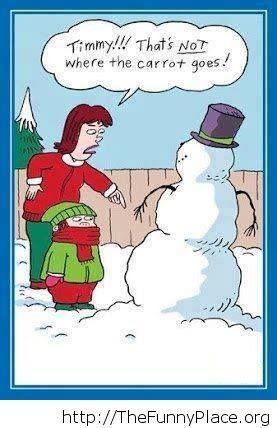 Building a snowman fail