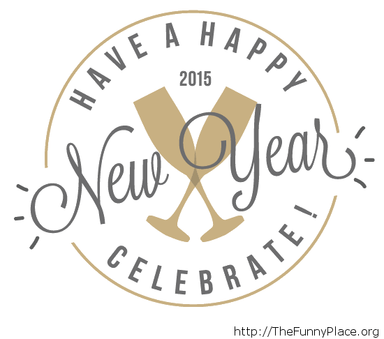 Celebrate New Year 2015 wallpaper