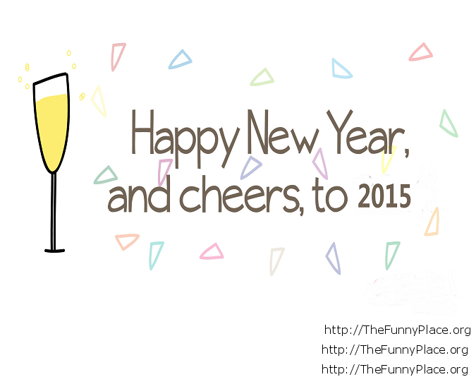Cheers 2015 celebration wallpaper