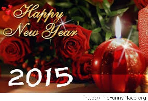 Cool decorations New Year 2015 mage