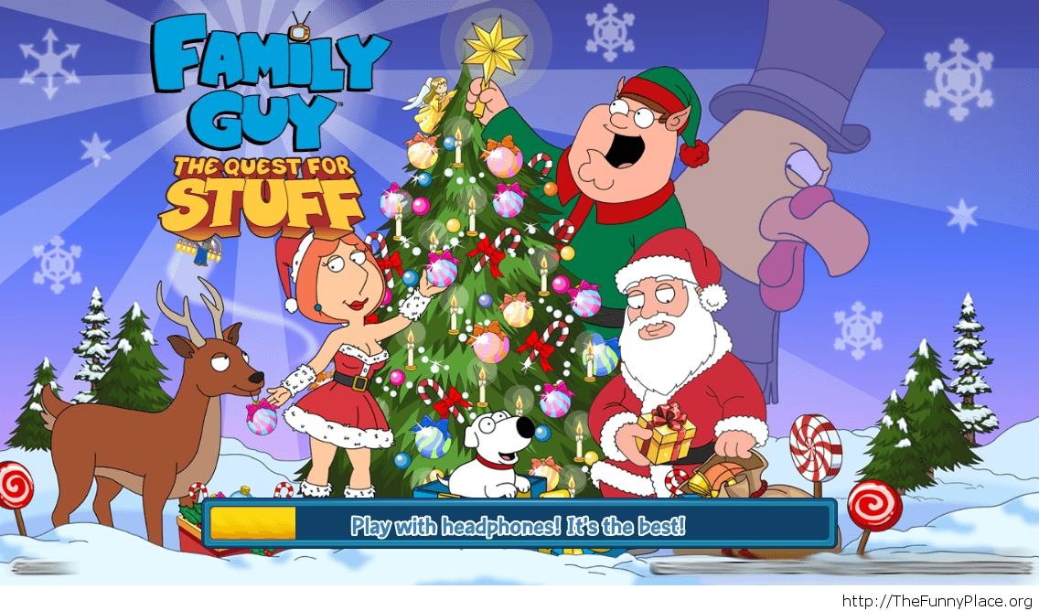 Family Guy funny Christmas game