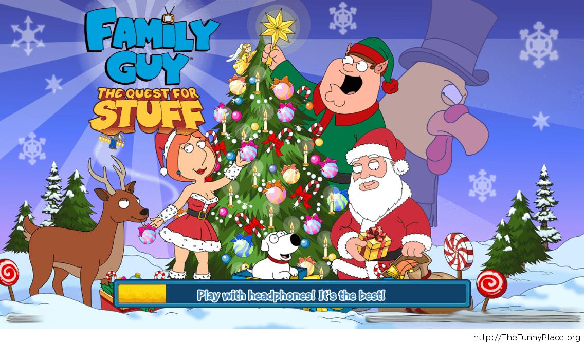 Family Guy funny Christmas game