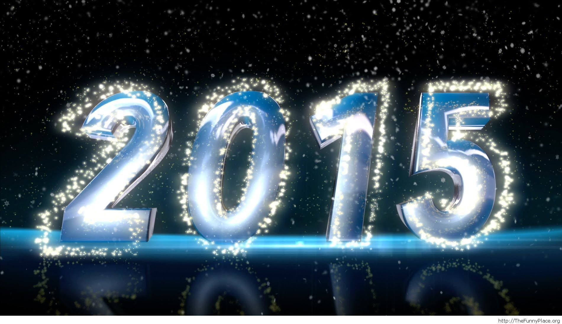 Fireworks 2015 cool text wallpaper