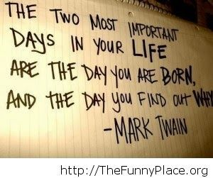 Funny Mark Twain quote about life