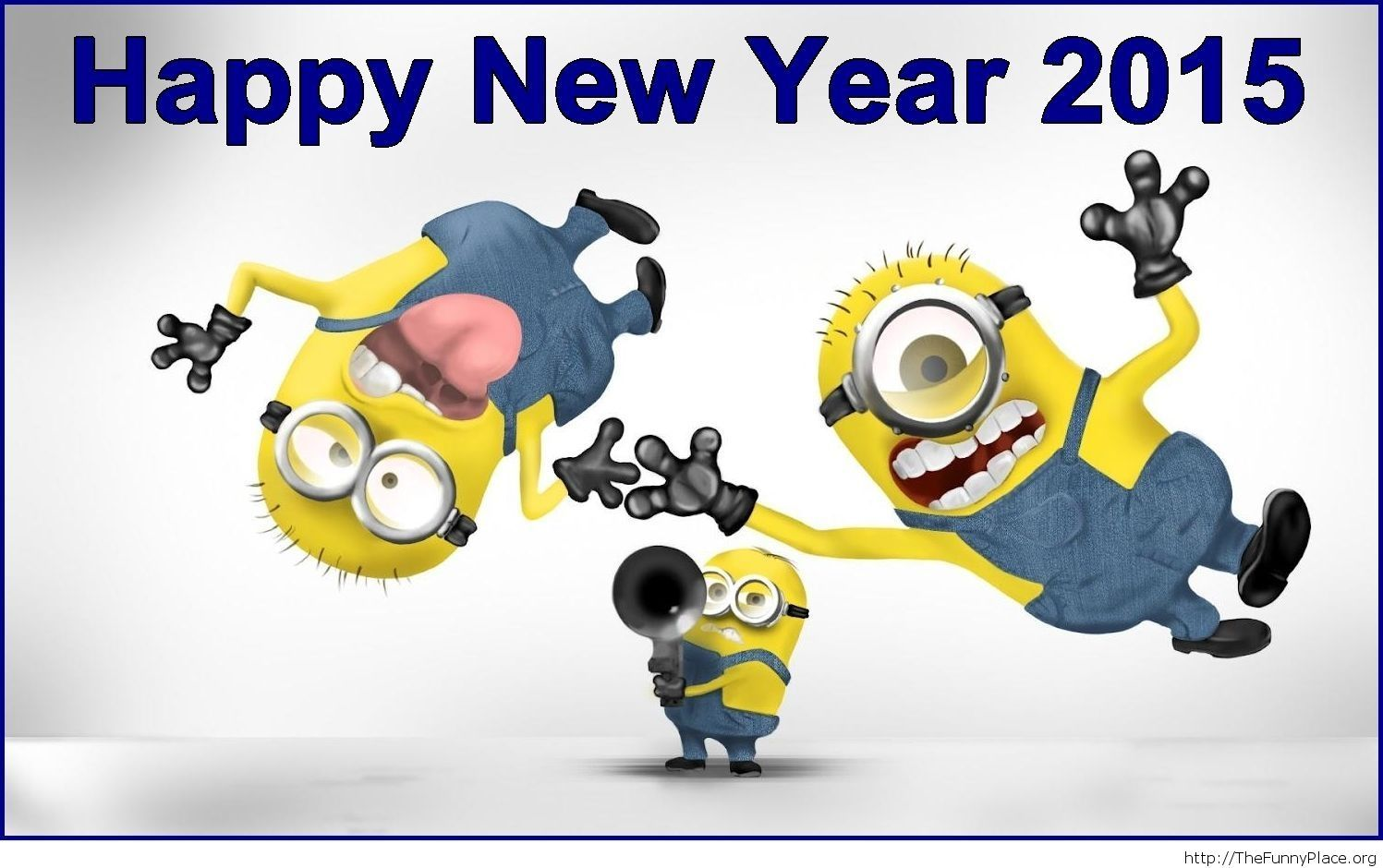 Funny Minions Hd wallpaper Happy New Year