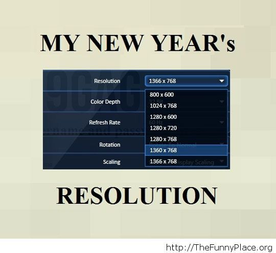 Funny New Year moments message