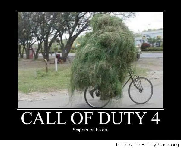 Funny camouflage image Call of Duty