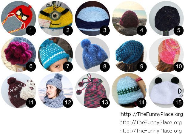 Funny hat ideas for winter