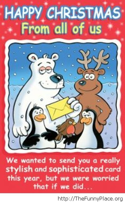 Happy Christmas card saying
