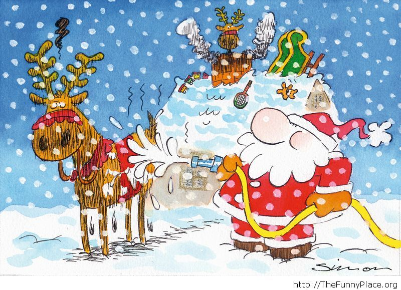 Happy Holidays comic image