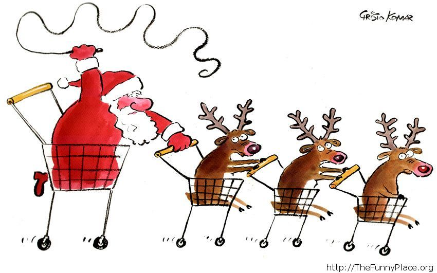 Happy Holidays funny comic moment